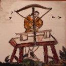 Artesanía: OFICIOS MEDIEVALES. TORNERO. PINTADO A MANO.. Lote 12575210