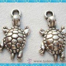 Artesanía: LOTE DE 2 COLGANTES TORTUGAS- PLATA -. Lote 113522822