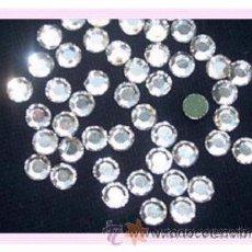 Artesanía: LOTE DE 50 HOTFIX DE SWAROVSKI 4MM- COLOR CRYSTAL. Lote 35175401