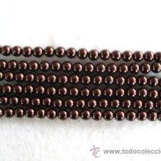 Artesanía: LOTE DE 100 BONITAS PIEDRAS DE CRISTAL -6MM. Lote 27214443