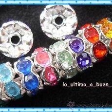 Artesanía: LOTE DE 20 BONITOS ESPACIADORES 6MM. Lote 113216507