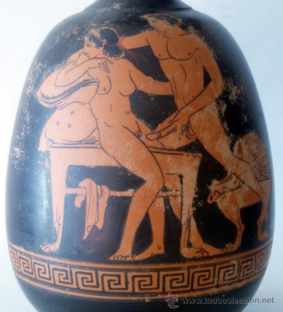 Nfora er tica griega de figuras rojas estilo comprar - Decoracion erotica ...