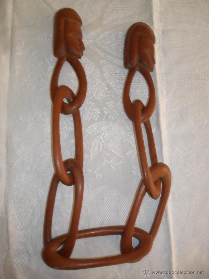 Cadena Decorativa De Madera Artesanía African Sold Through