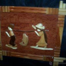 Artesanía: CUADRO HECHO EN MAQUETERIA TOTALMENTE ARTESANAL HECHO A MANO. Lote 42551055