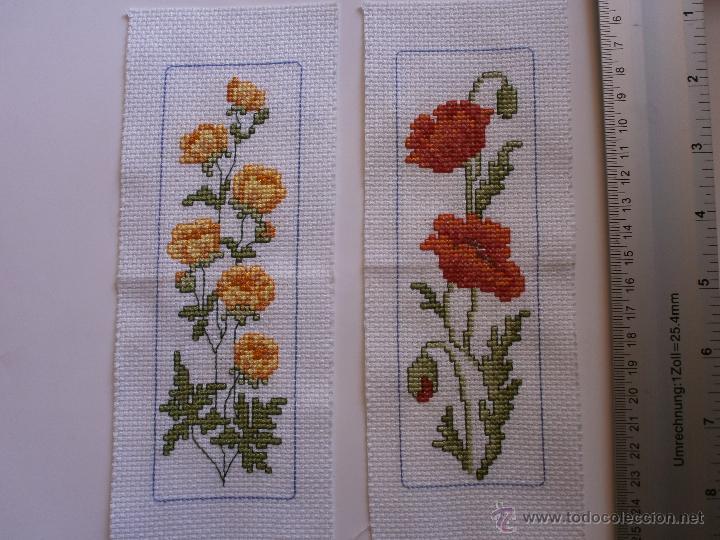 Cuadritos De Flores Punto De Cruz Amapolas Y Comprar