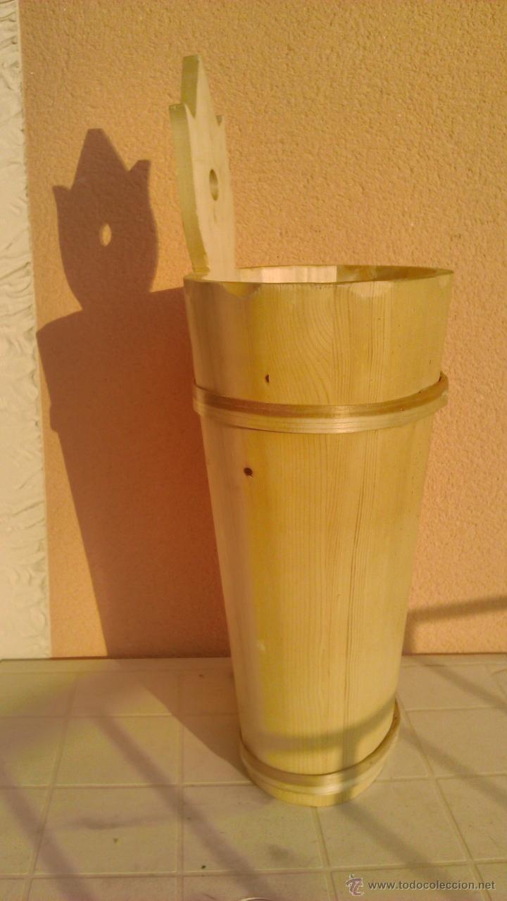 Artesanía: Precioso paraguero de madera natural hecho a mano. - Foto 3 - 43860625