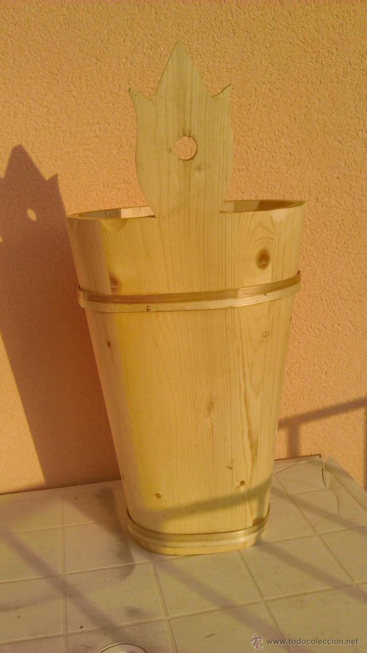 Artesanía: Precioso paraguero de madera natural hecho a mano. - Foto 4 - 43860625