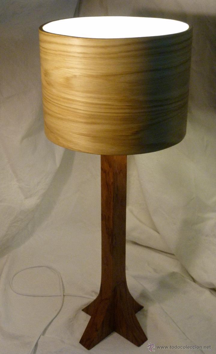 Artesanía: lampara bubinga - Foto 2 - 43916946