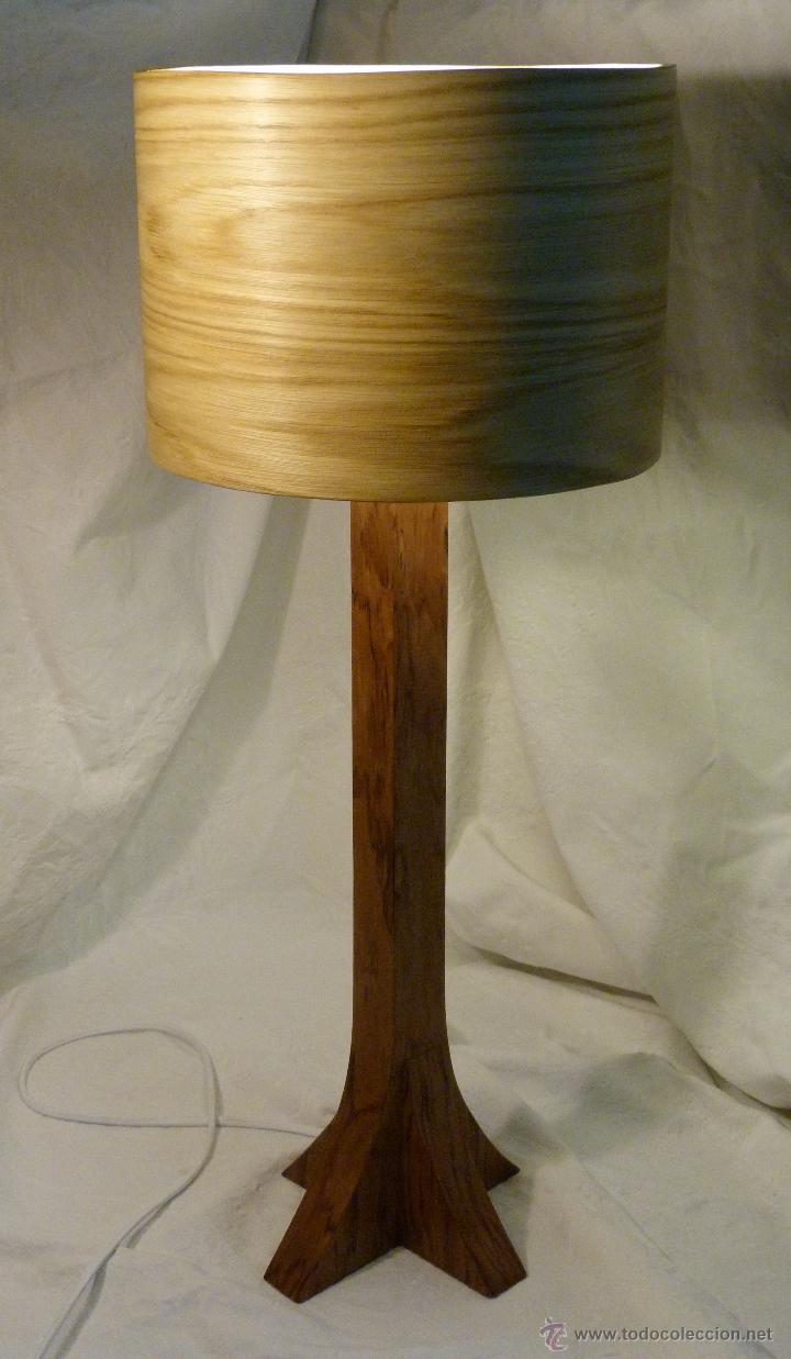 Artesanía: lampara bubinga - Foto 3 - 43916946