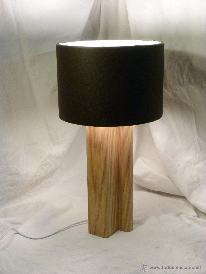 LAMPARA CUERO (Artesanía - otros articulos hechos a mano)