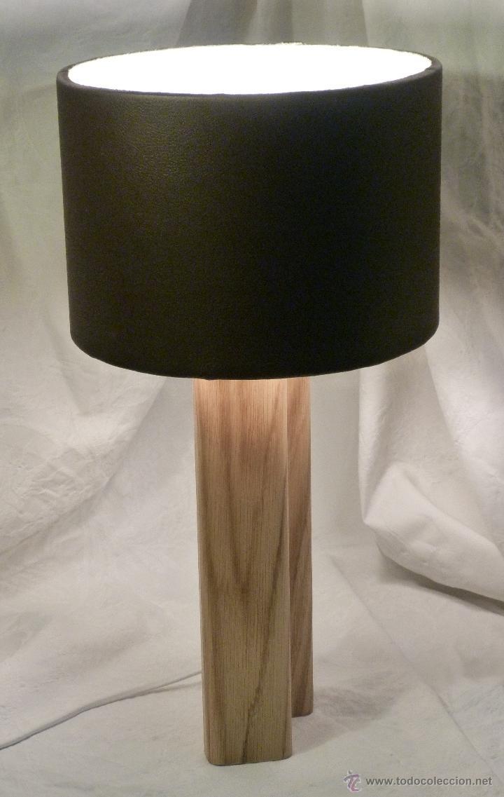 Artesanía: lampara cuero - Foto 2 - 43917014
