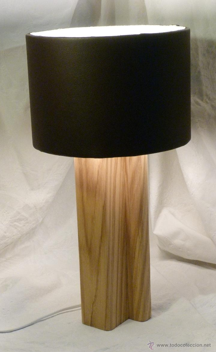 Artesanía: lampara cuero - Foto 3 - 43917014