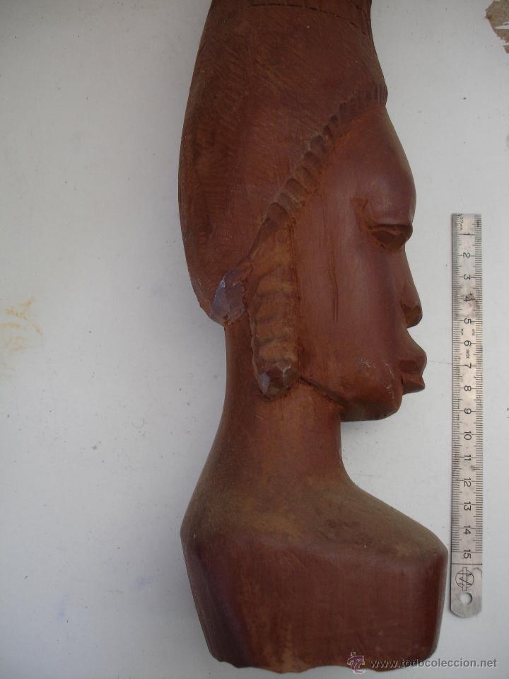 Artesanía: PAREJA AFRICANA DE MADERA - Foto 2 - 43929975
