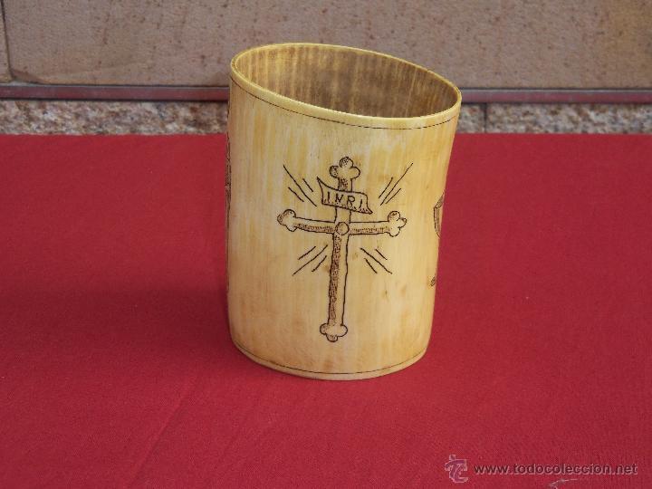 Artesanía: vaso de marfil - Foto 3 - 45542877