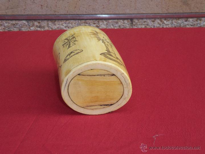 Artesanía: vaso de marfil - Foto 5 - 45542877