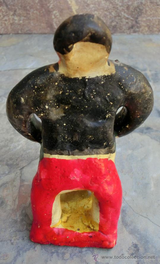 Artesanía: SIMPÁTICA PAREJA DE PAISANOS MEJICANOS. FIGURAS HECHAS A MANO. ARTESANÍA POPULAR MEXICO. RETRO - Foto 5 - 48651380
