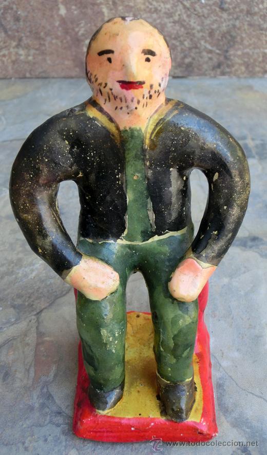 Artesanía: SIMPÁTICA PAREJA DE PAISANOS MEJICANOS. FIGURAS HECHAS A MANO. ARTESANÍA POPULAR MEXICO. RETRO - Foto 13 - 48651380