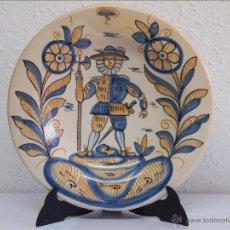 Artesanía: PLATO DE CERÁMICA DE TALAVERA DE LA REINA. . Lote 49531818