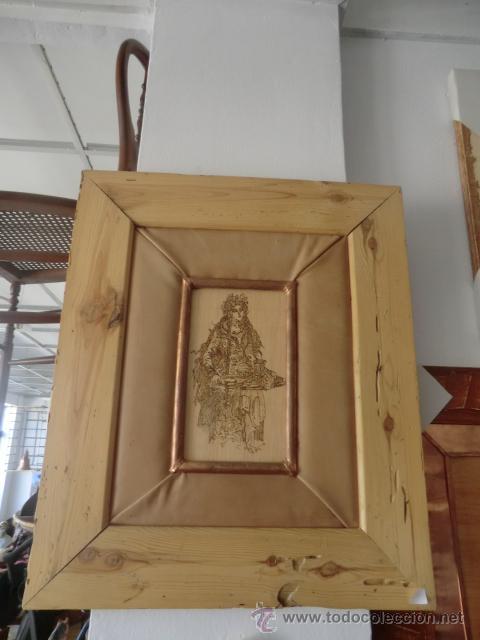 PIROGRABADO (CUADRO) (Artesanía - otros articulos hechos a mano)
