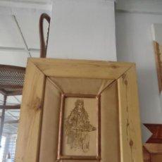 Artesanía: PIROGRABADO (CUADRO). Lote 50335411