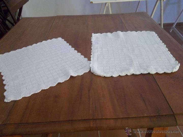 BOLSA DE PAN Y PAÑO DE MANO DE ADORNO DE GANCHLLLO (Artesanía - otros articulos hechos a mano)
