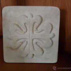 Artesanía: PISA PAPELES PIEDRA ARENISCA DE VILLAMAYOR SALAMANCA. Lote 51661629