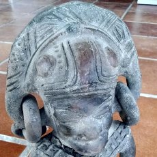 Artesanía: REPRODUCCIÓN FIGURA ARTE PRECOLOMBINO - IDOLO PRECOLOMBINO . Lote 51975069