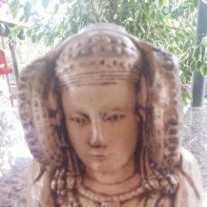 Artesanía: BUSTO DE LA DAMA DE ELCHE. ESCAYOLA. Lote 52376769