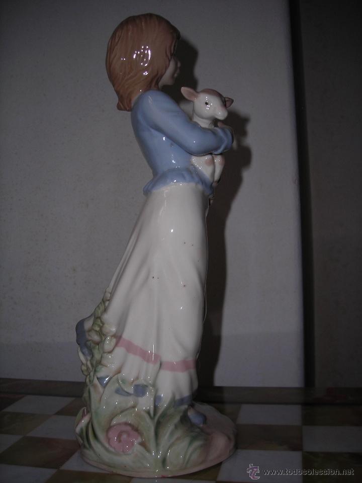 Artesanía: Pastorcilla de cerámica NADAL. - Foto 2 - 53465010