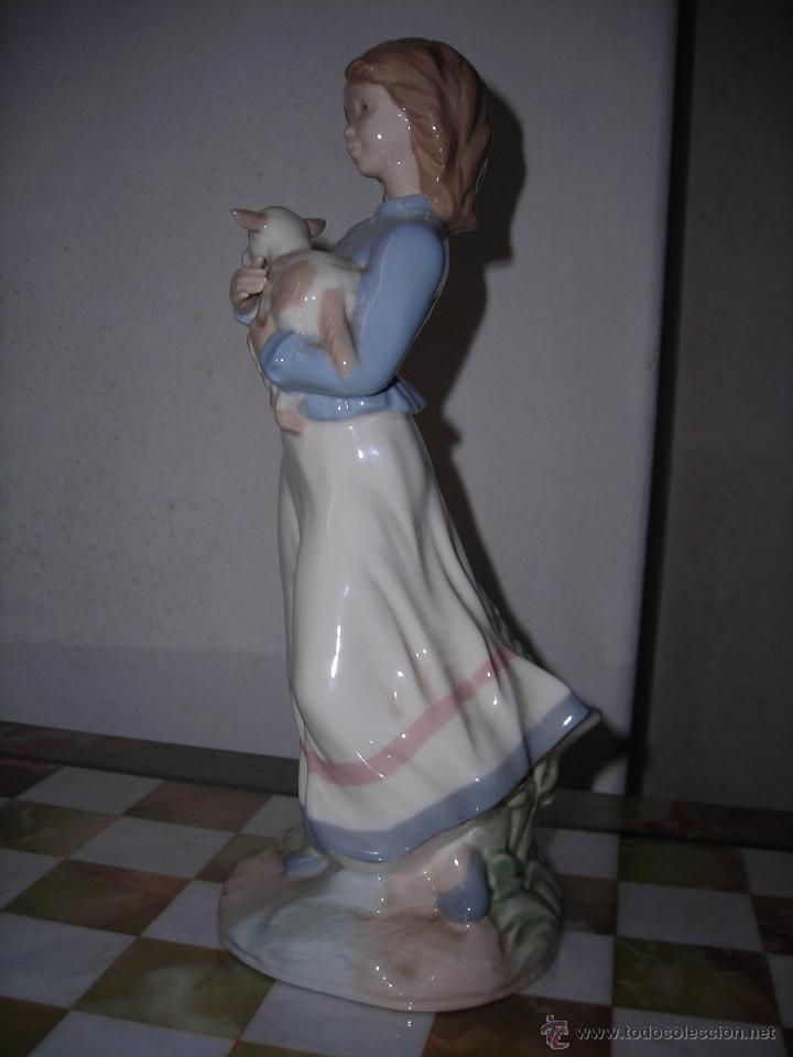 Artesanía: Pastorcilla de cerámica NADAL. - Foto 4 - 53465010
