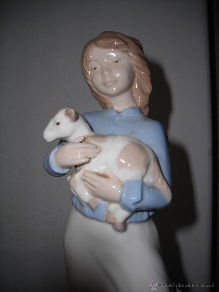 Artesanía: Pastorcilla de cerámica NADAL. - Foto 5 - 53465010