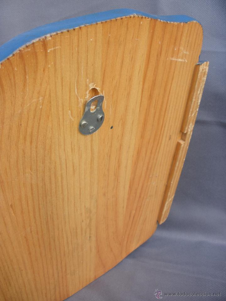 Artesanía: Decoración vintage Soporte madera para colgar bolsa del pan en cocina , panera colgante pirograbada - Foto 4 - 53843051