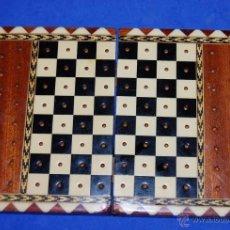 Artesanía: CAJA DE TARACEA PARA JUEGO DE AJEDREZ-03. Lote 53868218