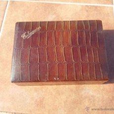 Artesanía: TABAQUERA ORIGNIAL AÑOS 70. Lote 54149782