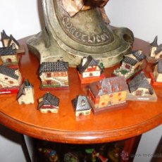 Artesanía: COLECCION DE 15 MONUMENTOS Y CASITAS DE QUERALPS, PIRINEOS, DE LOS AÑOS 70, MUY BONITAS. Lote 55053334