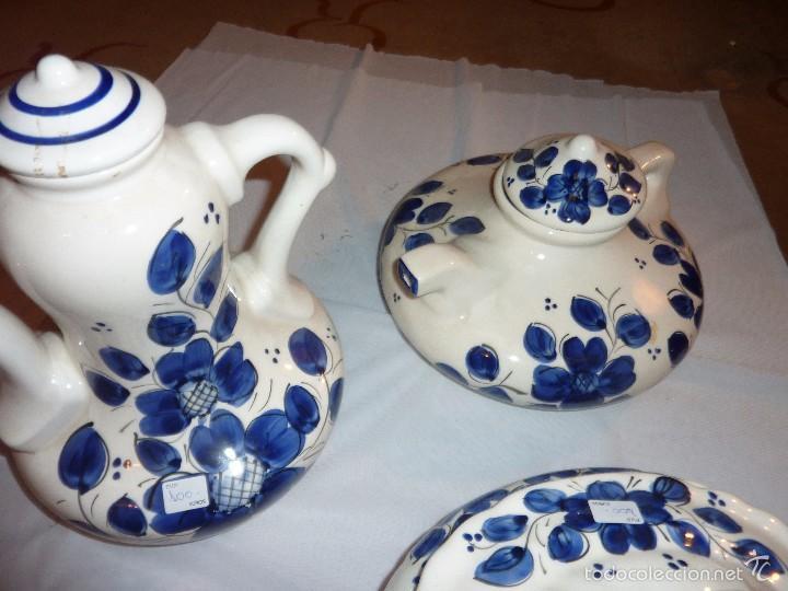 Artesanía: lote de 3 piezas de carámica Fanfoart. - Foto 2 - 55321371
