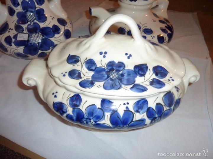 Artesanía: lote de 3 piezas de carámica Fanfoart. - Foto 3 - 55321371