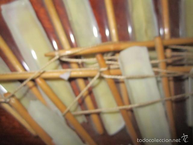 Artesanía: Barco velero hecho de conchas, sobre madera. Todo artesanal. 25,5 x 50 cms. altura. - Foto 5 - 56272590