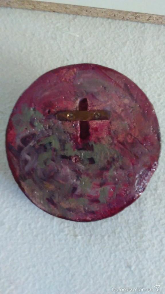 Artesanía: Cabeza de Cristo en relieve pintada a mano - Foto 6 - 57150524