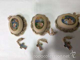 Artesanía: cajita ceramica para rosario PINTADA A MANO - Foto 2 - 58142112
