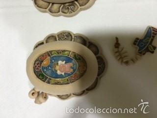 Artesanía: cajita ceramica para rosario PINTADA A MANO - Foto 3 - 58142112