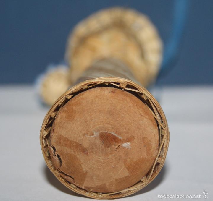 Artesanía: Bonita Muñeca de mimbre - Foto 3 - 58340631