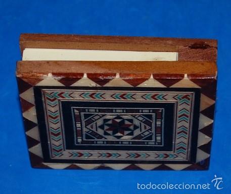 Artesanía: CAJA DE TARACEA GRANADINA PARA NOTAS - Foto 3 - 59066965