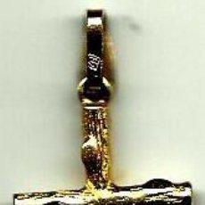 Artesanía: CRUZ COLGANTE SIN CRISTO, DORADA (BISUTERIA DE ALTA CALIDAD). Lote 59771848