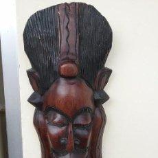 Artesanía: MÁSCARA AFRICANA 45 CM. Lote 64842743