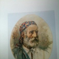 Artisanat: LABRADOR-ACUARELA DE GRABIEL PUIG RODA-TIRIG CASTELLON-1865 VINAROZ1919. Lote 66848818