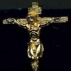 Artesanía: CRISTO ORO PASO DE MISTERIO DE LA SEMANA SANTA DE SAN FERNAND(SANTISIMO CRISTO DE LA VERA CRUZ)Nº75. Lote 72711355