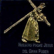 Artesanía: CRISTO ORO PASO DE MISTERIO DE LA SEMANA SANTA DE SAN FERNAND( JESUS DEL GRAN PODER )Nº79. Lote 72712055