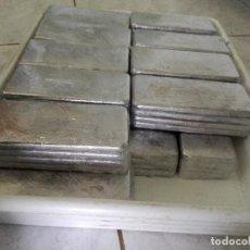 Artesanía: 5 KILOS DE PLOMO EN LINGOTES DE 500 GRAMOS (LEER DESCRIPCION). Lote 128653950