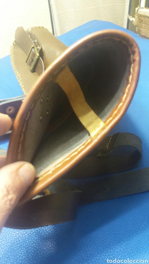 Artesanía: Carcaj de espalda para tiro con arco piel vacuno Artesano - Foto 4 - 81237880